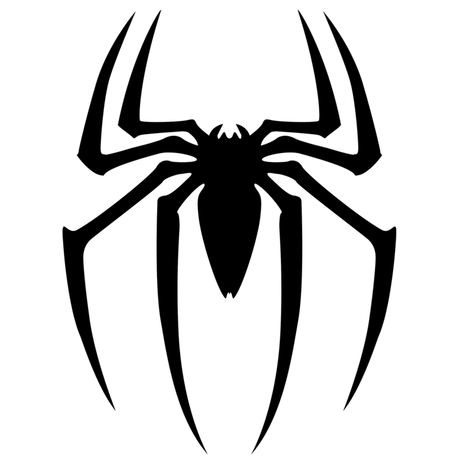 Classic spiderman logo png. Image spider man clipart