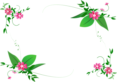 Free frames and borders. Blossom clipart border design png freeuse library