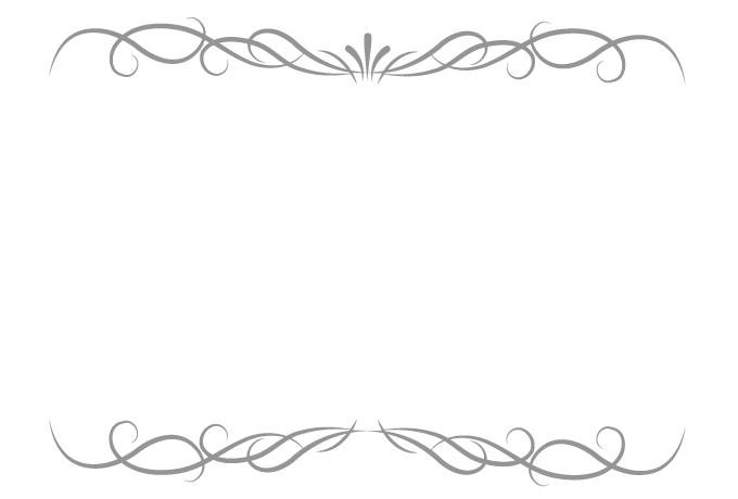 Classic vector frame. No style free design