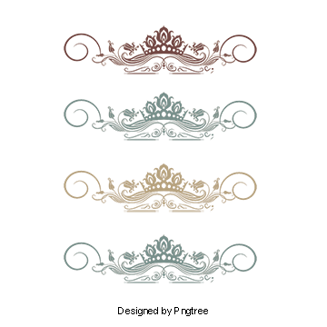Vector furniture elements. Texture shading borders lace