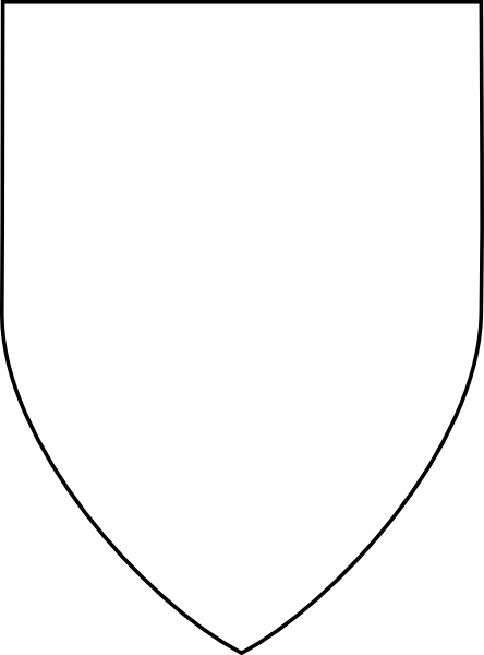 Classic vector shield. Free images of a