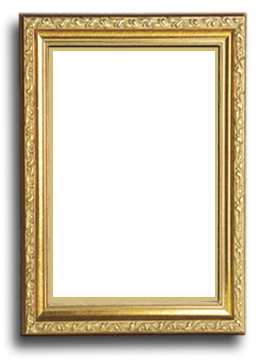 Classic vector thin gold frame. Png google search gallery
