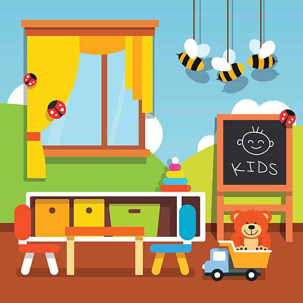 Classroom clipart. Images preschool station science
