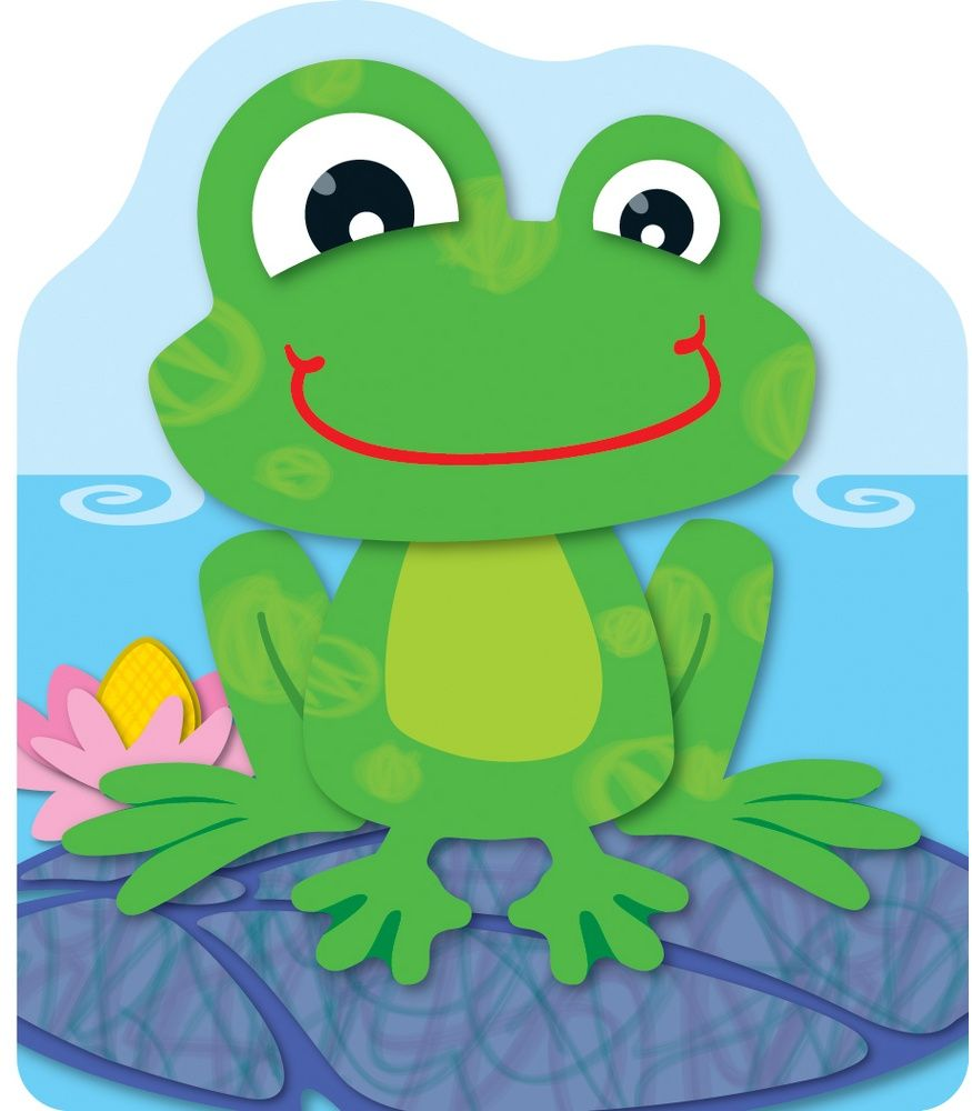 Classroom clipart frog. Funky bookmarks cd decor