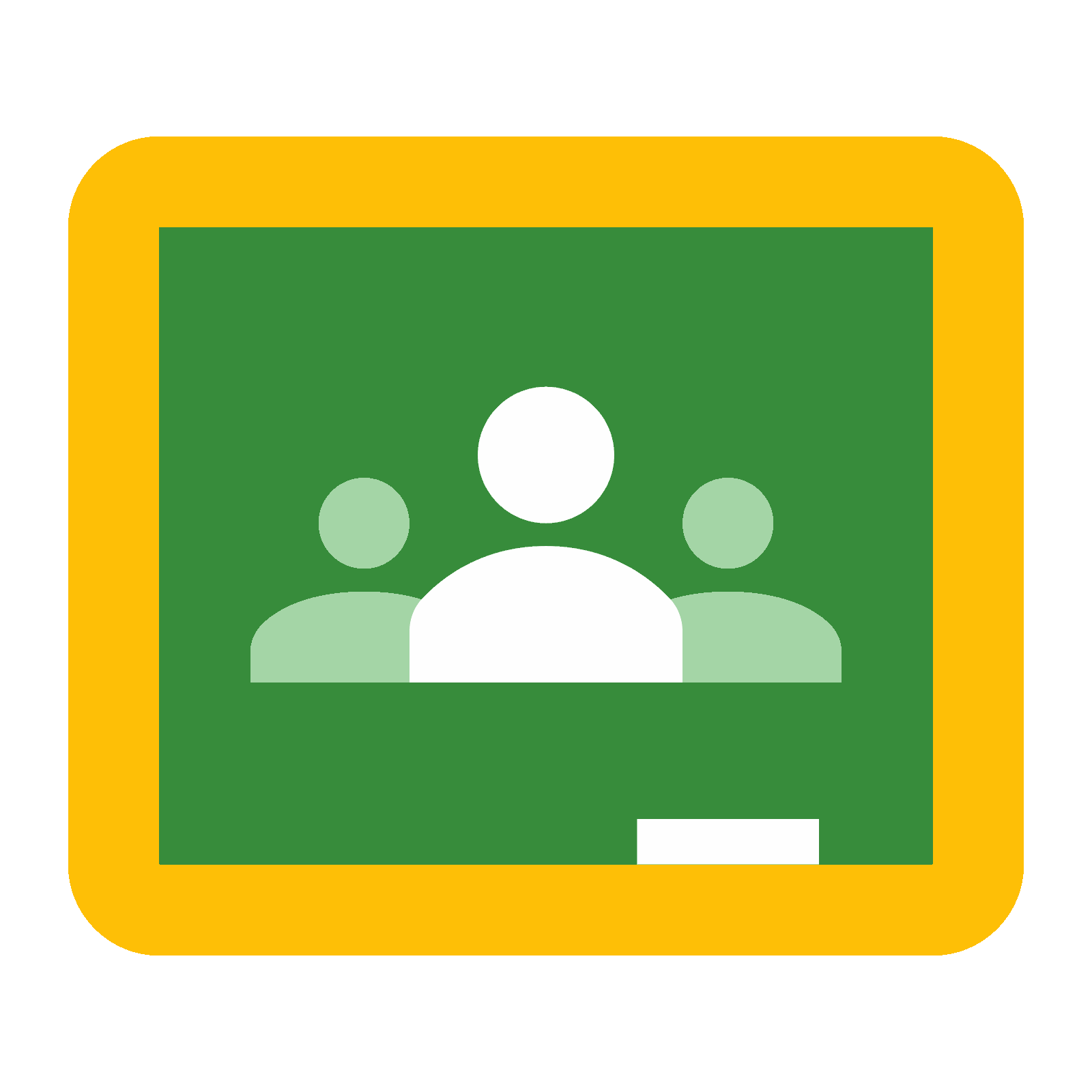 Vector contact call google. Classroom icon free download