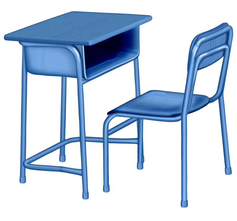 Classroom vector school bench. Table chair furniture chairs