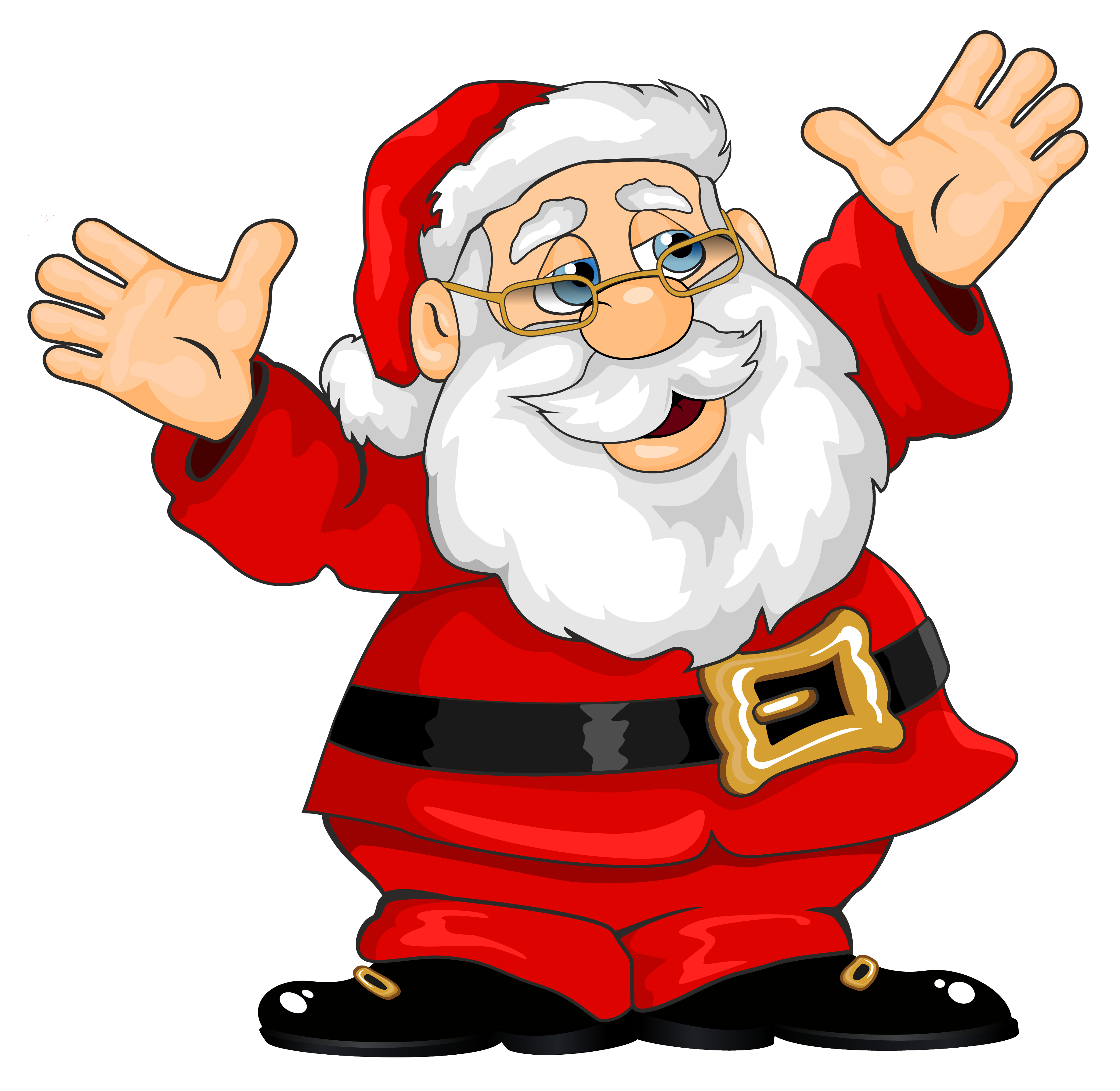 Claus clipart. Santa png gallery yopriceville