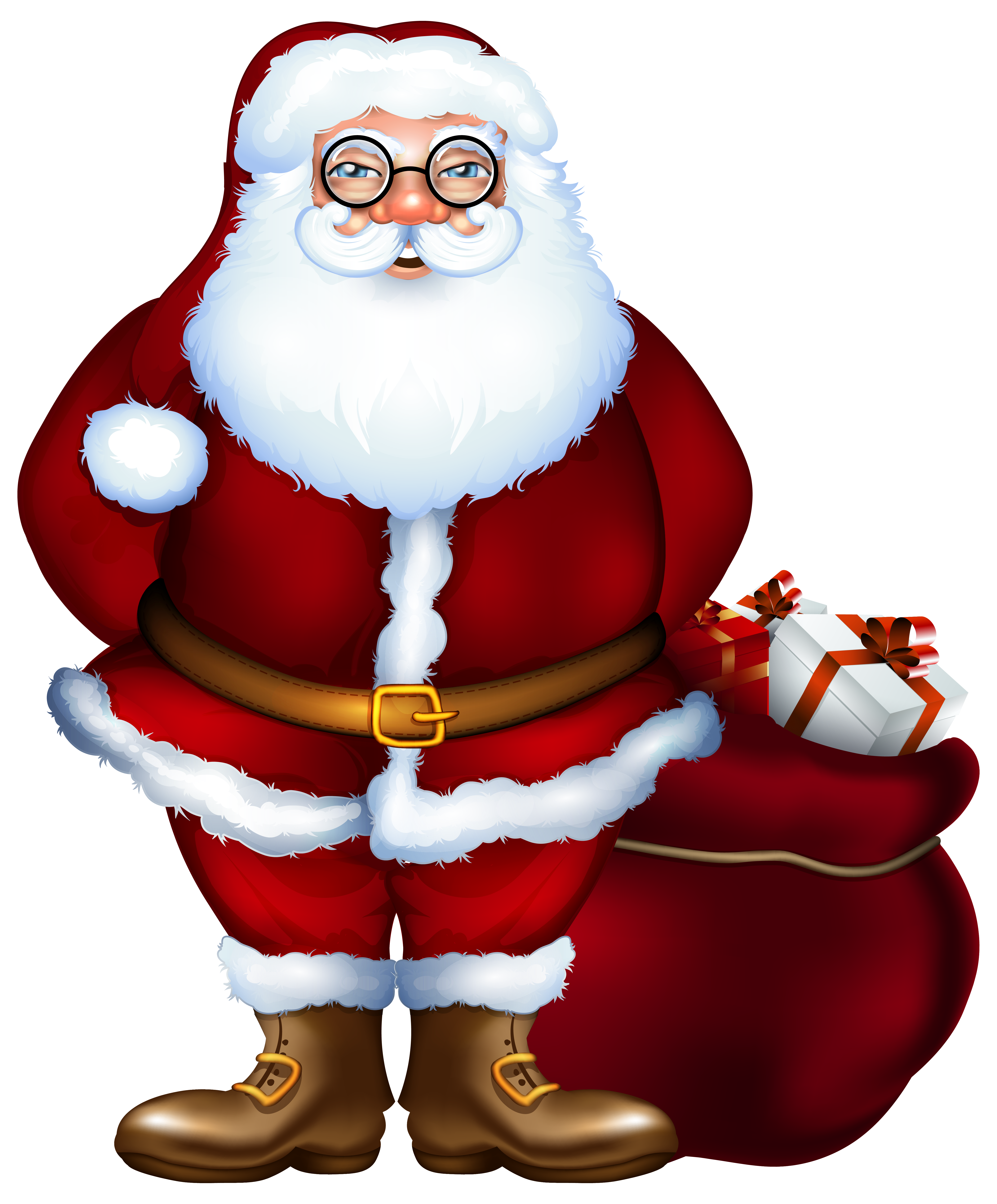 Claus clipart png. Santa image gallery yopriceville