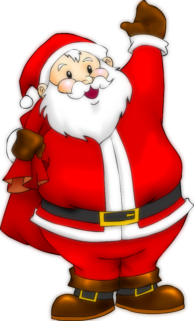 Vector santa body. Claus by rippler deviantart