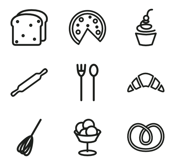 Product vector bakery. Image result for icons