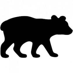 Claws vector grizzly. Paw prints free