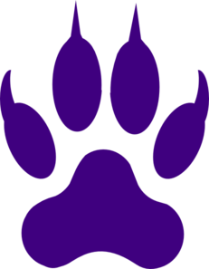 Claws vector grizzly. Tiger claw clip art