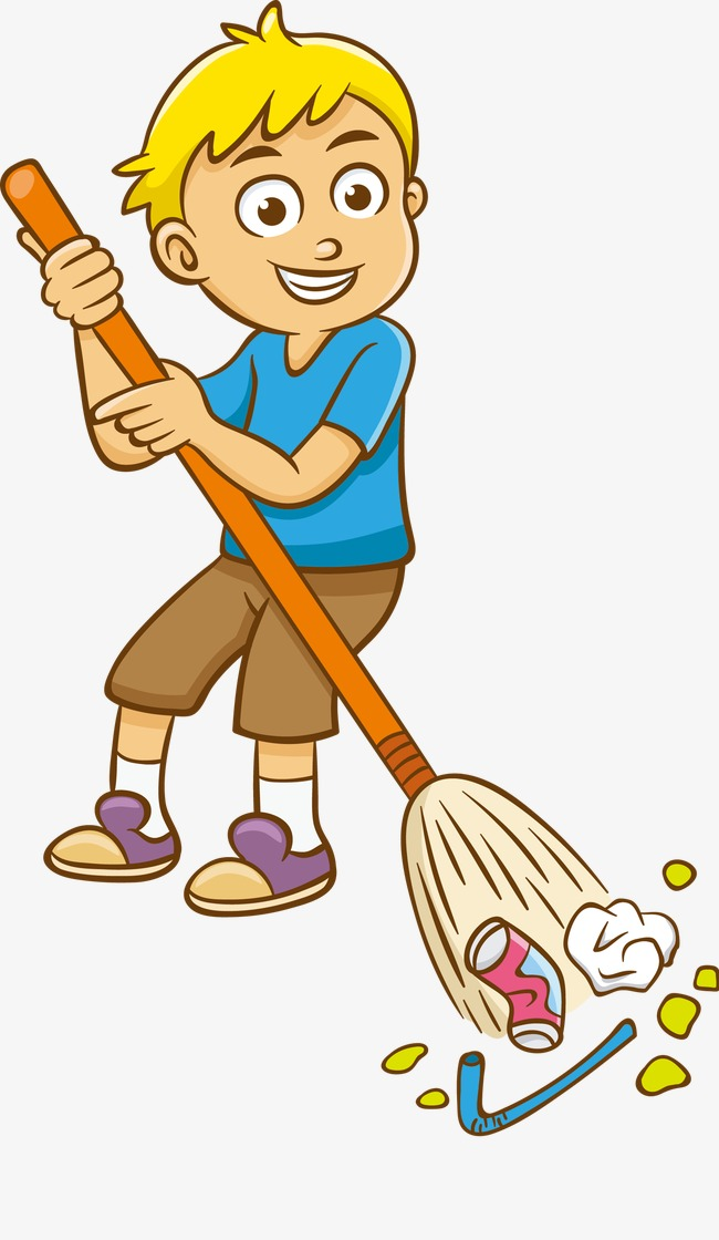 cleaning clipart sweeping