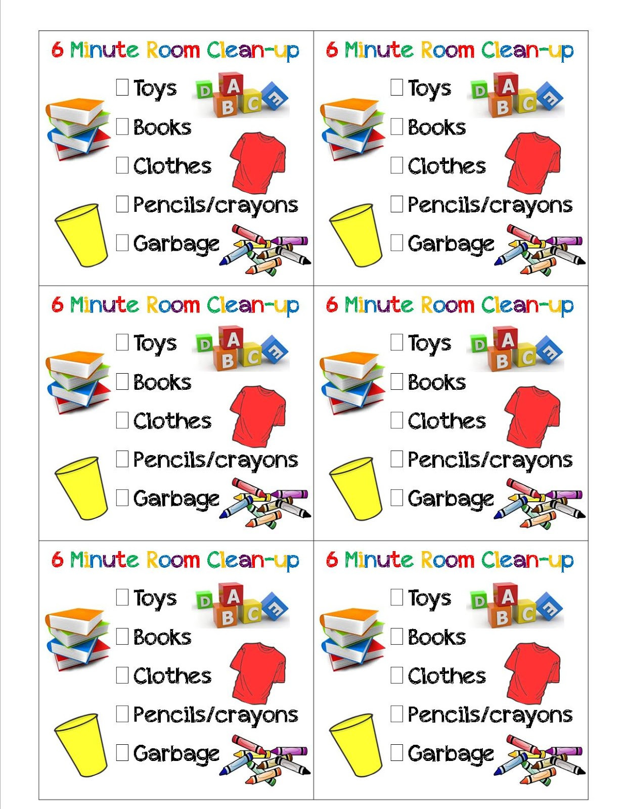 Clean clipart clean bedroom. Cleaning checklist for kids