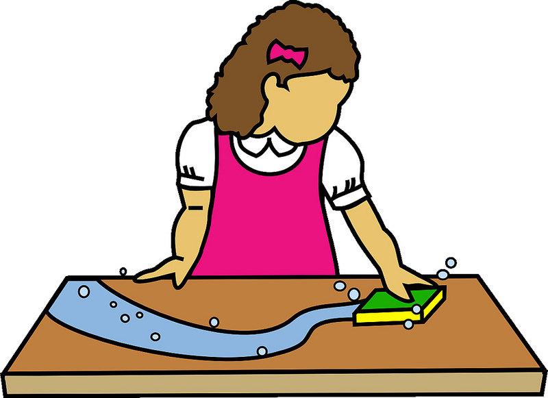 Clean clipart clean dinner table. At getdrawings com free
