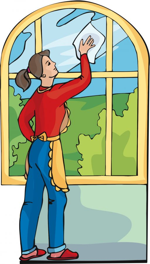 clean clipart glass cleaning