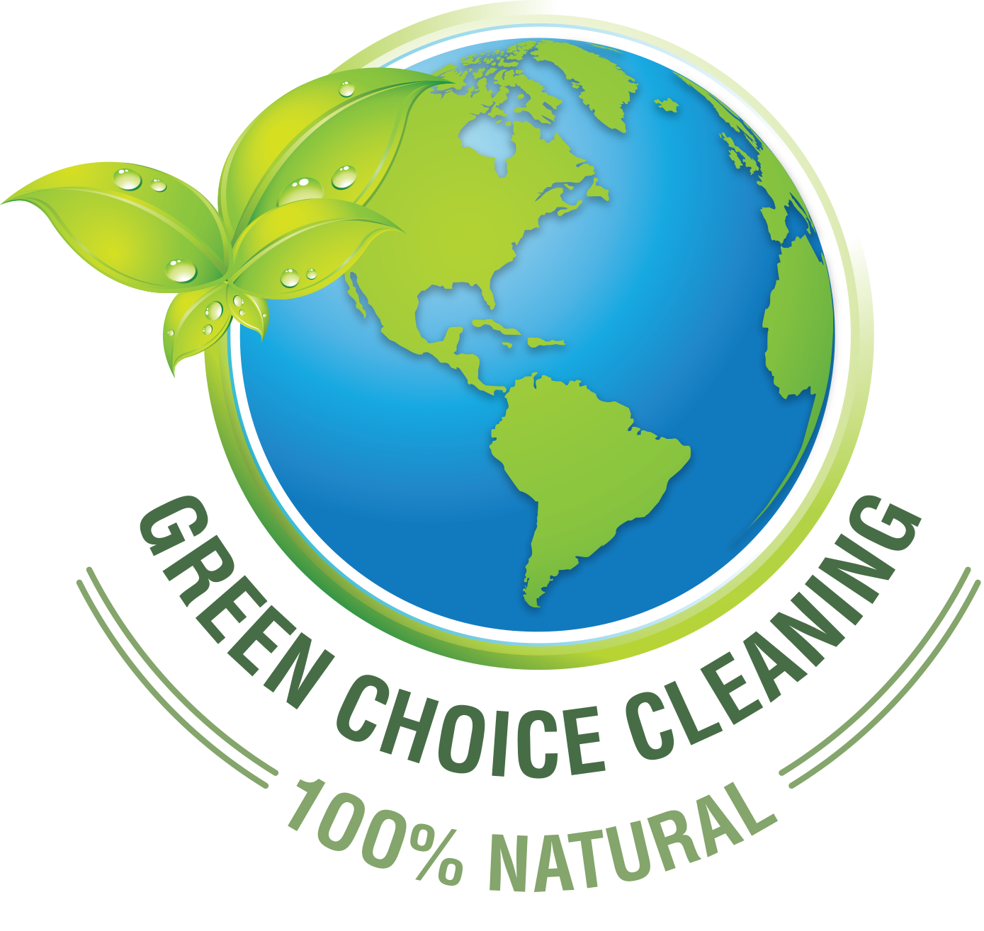 Environment vector clean. Greenchoice eco friendly house