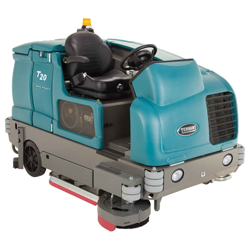 Clean vector floor scrubber. Commercial scrubbers system inc