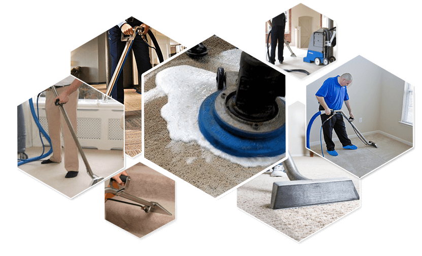 Clean vector housekeeping service. Office and residential cleaning