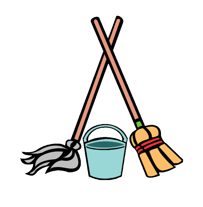 Collection of free broom. Mop clipart janitorial supply graphic transparent download