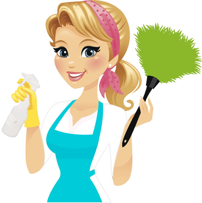 Cleaner clipart cleaning lady. Group schedule service carolina