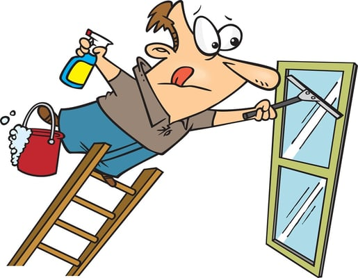 Cleaner clipart window washer. Gilbert cleaning washing silver
