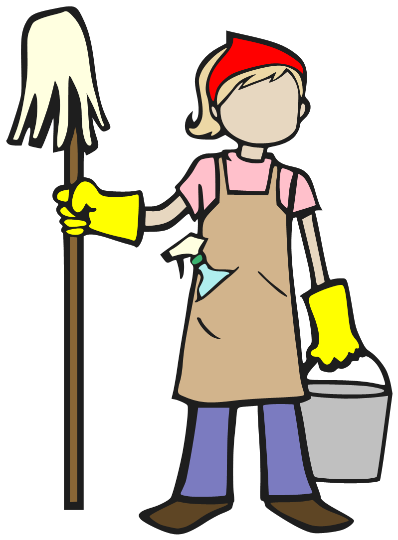 Cleaning drawing little girl. Clipart at getdrawings com