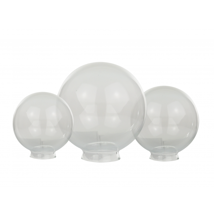 Clear glass ball png. Globe light shade in