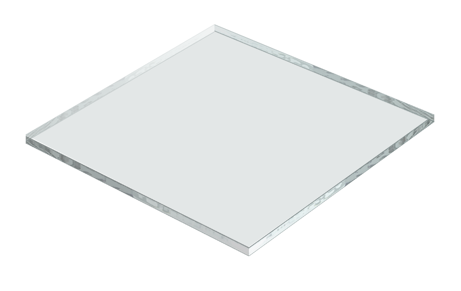transparent floor frosted glass