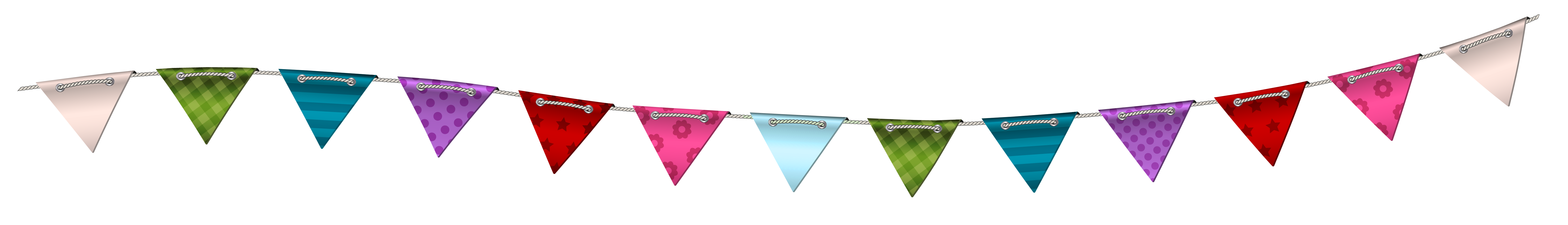 Clear transparent streamer. Party hat clip art