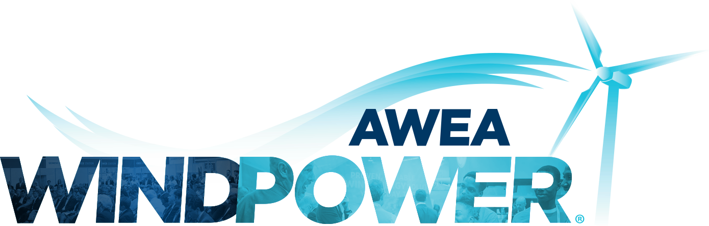Vector wind abstract. Awea windpower conference exhibition