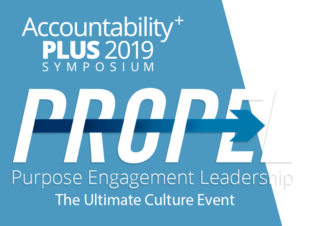 Clear vector 2019. Accountability plus symposium june