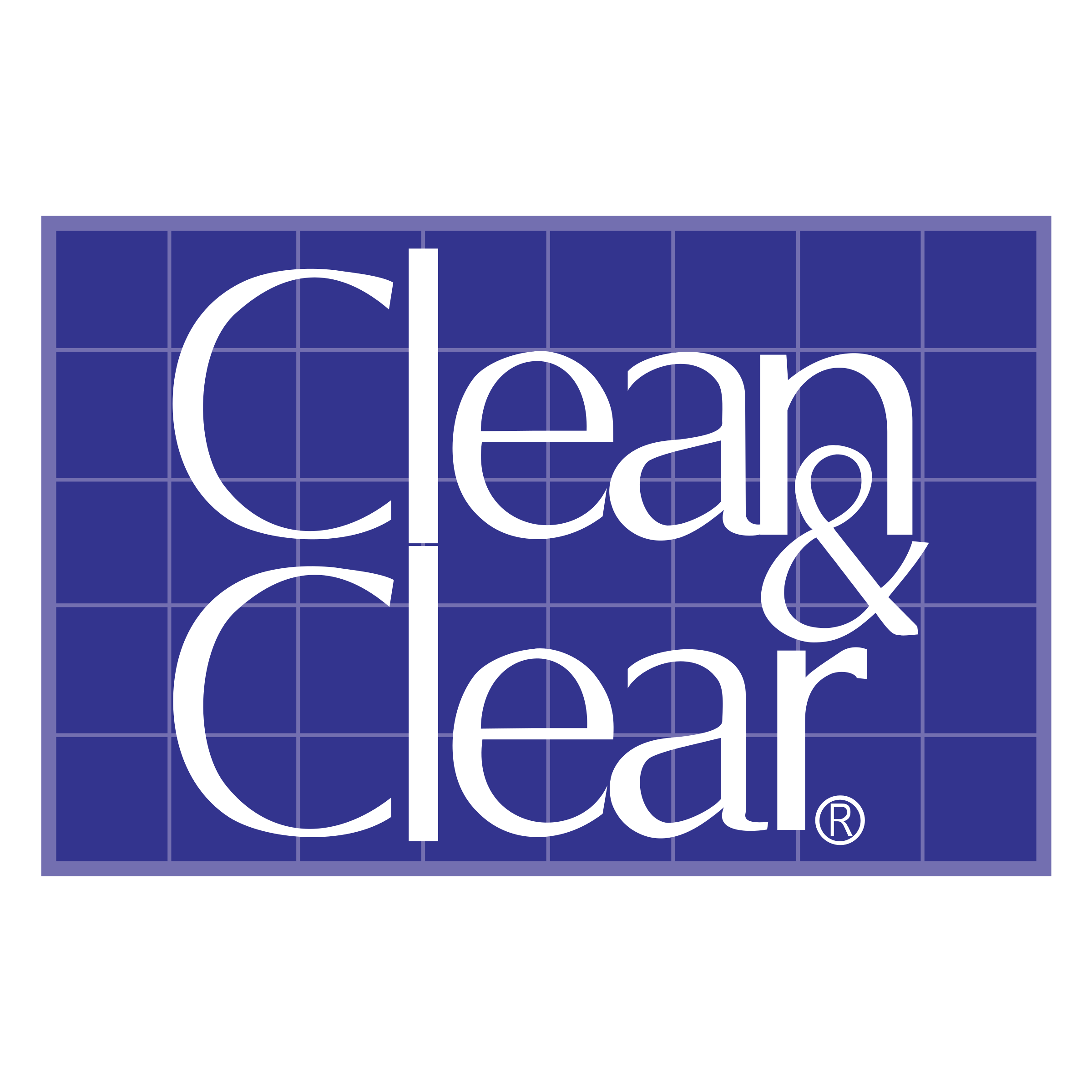 Clear vector blue. Clean logo png transparent