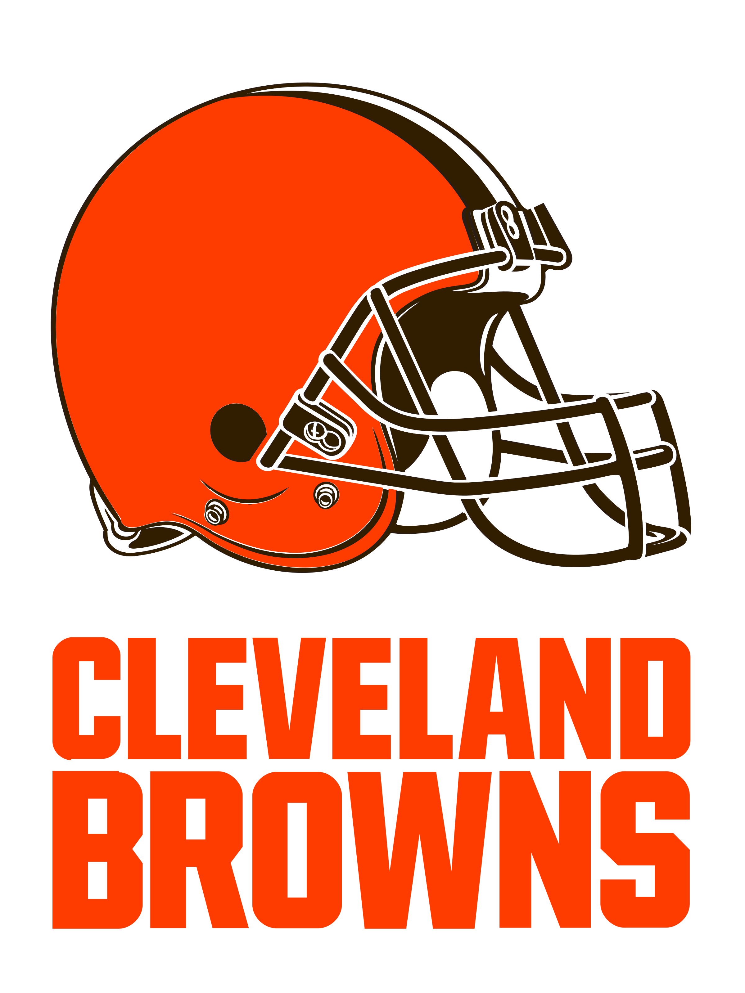 Cleveland browns logo png. Transparent svg vector freebie
