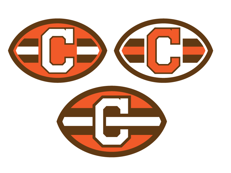 Cleveland browns logo png. Re do in the