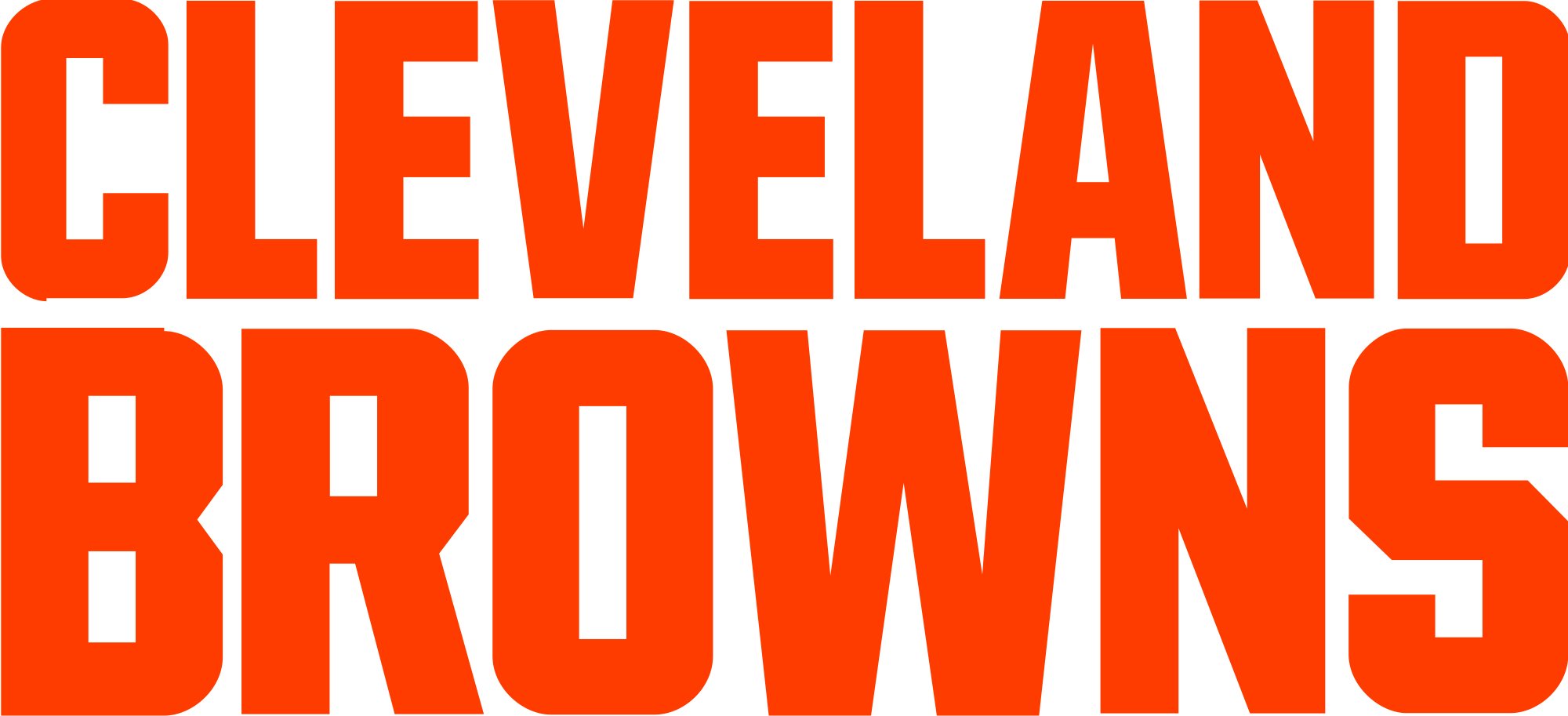 Cleveland browns logo png. File wordmark svg wikimedia