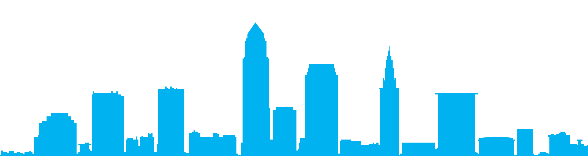 Cleveland skyline png. Art silhouette transprent free