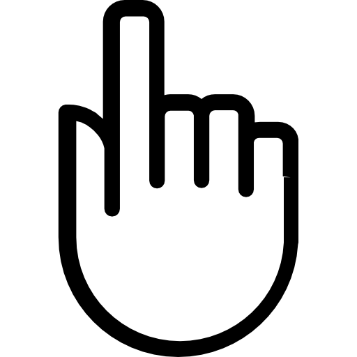 Click bell button logo png. Hand free gestures icons