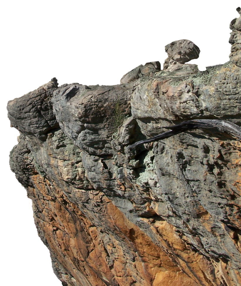 Cliff background png. Precut by stockopedia on