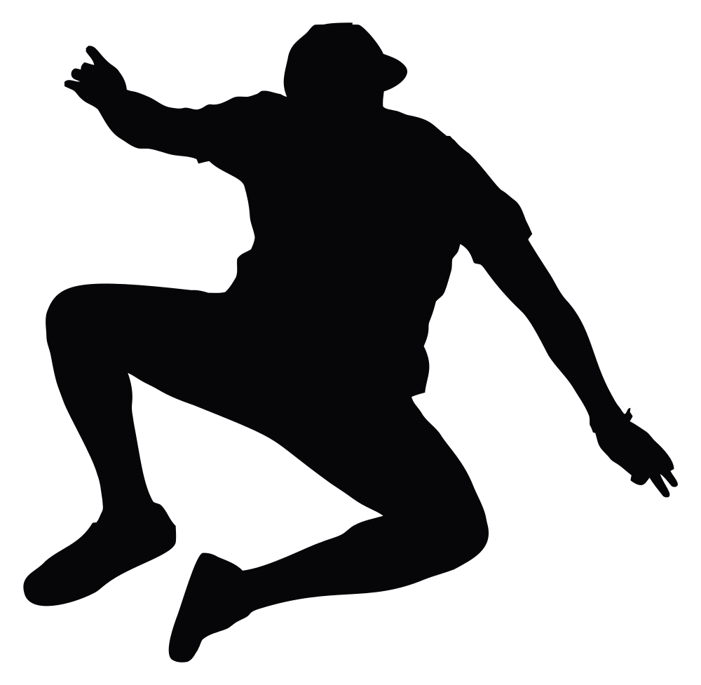 Cliff success jump png. Silhouette at getdrawings com