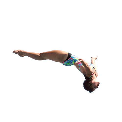 Cliff jump png. Anna bader events diving