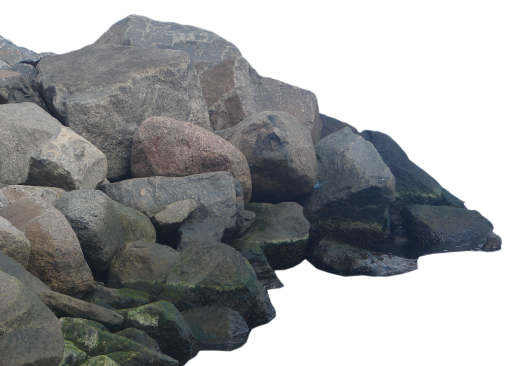 Transparent rocks rock pile. Download png hd hq