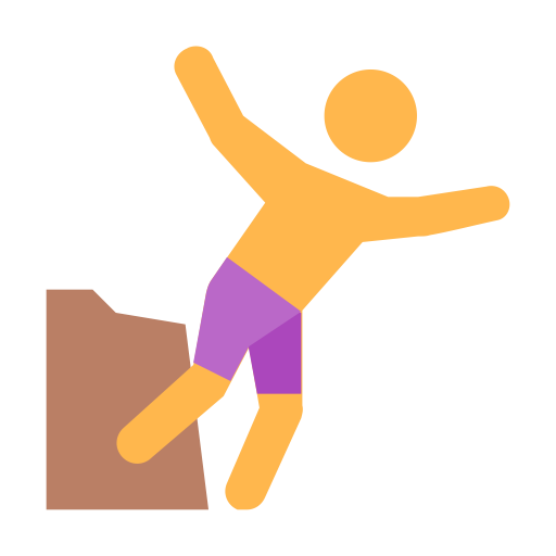 Cliff jump png. Jumping cloud icon and