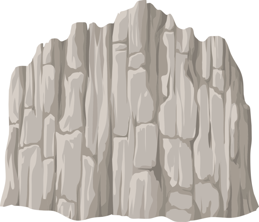 Cliff vector drawing. Computer icons rock free