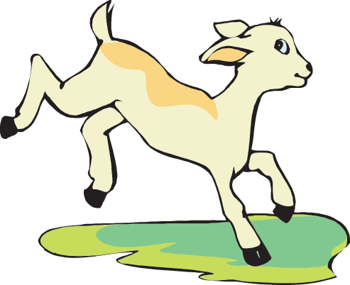 Cliff vector mountain goat. Clip art stock free