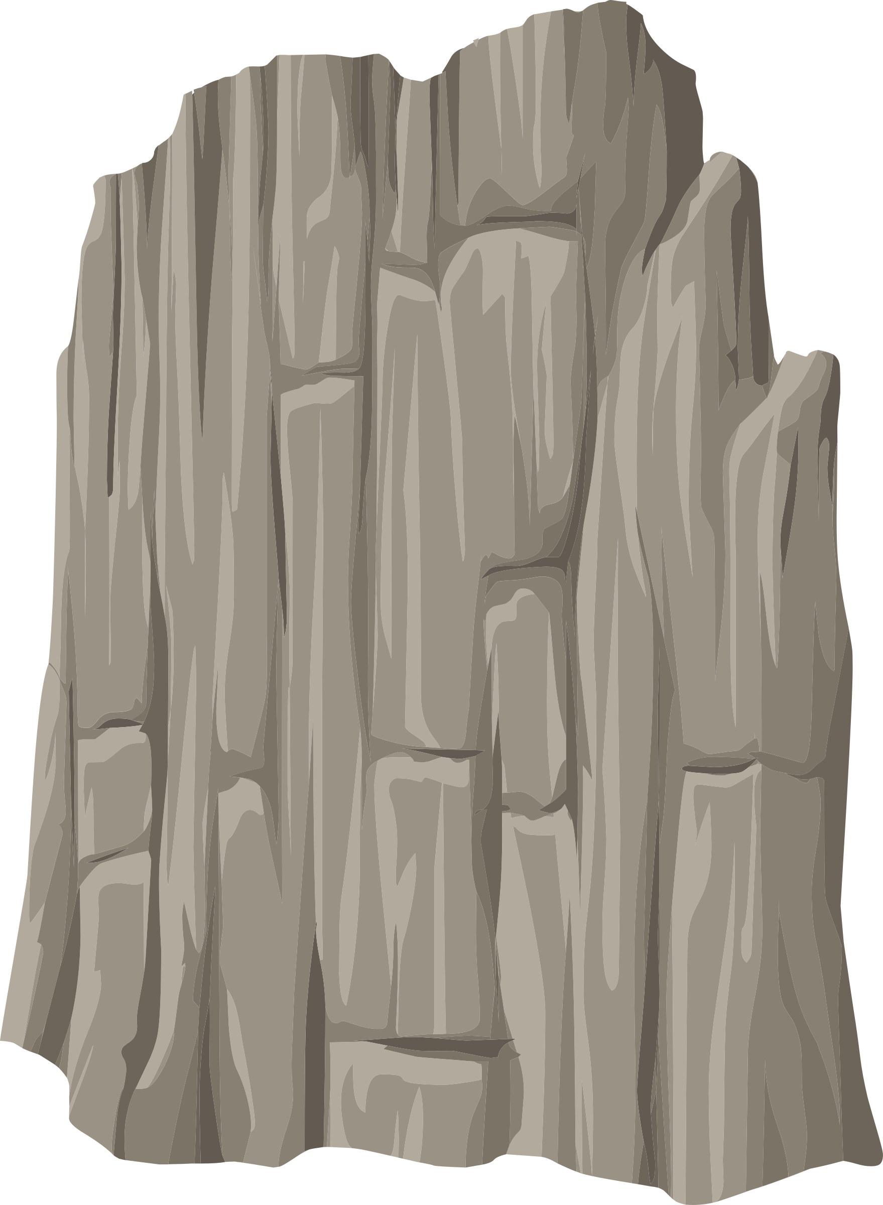 Cliff vector. Png library stock