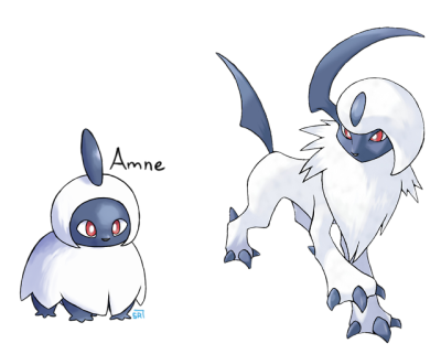 Absol transparent kawaii. Only tumblr it lives