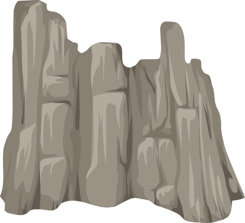 cliffs drawing rocky cliff