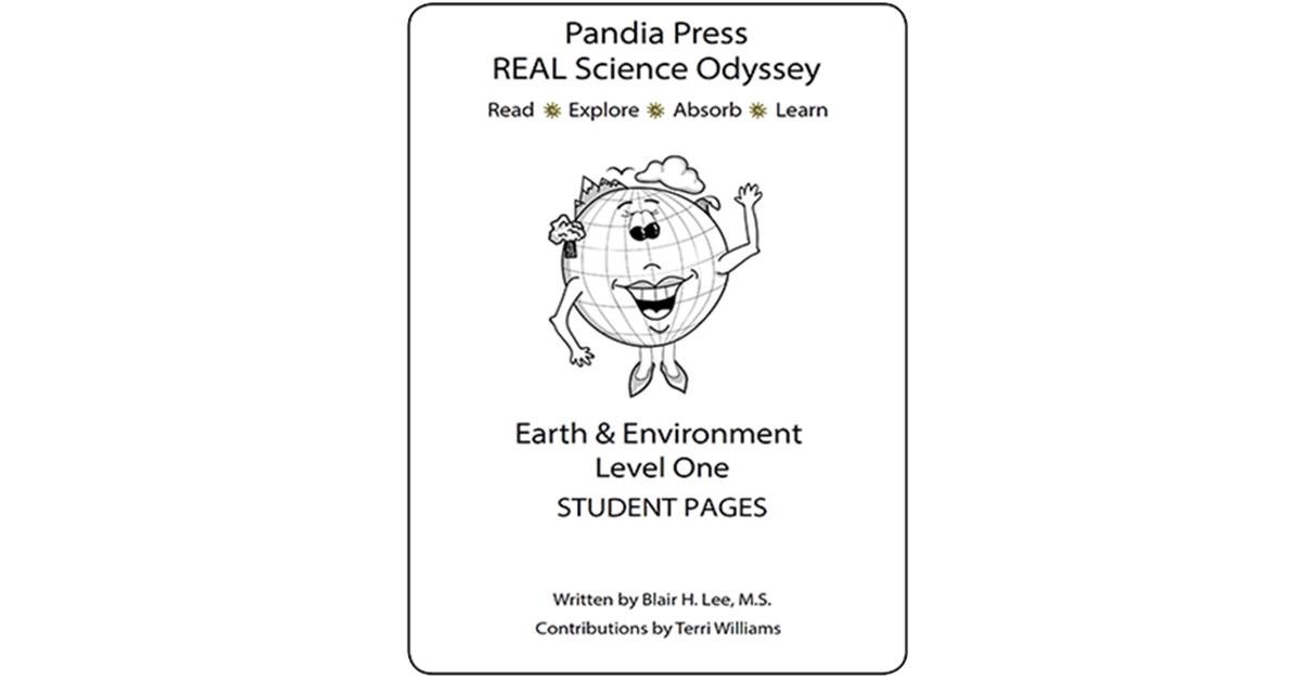 Climate drawing environmental science. Real odyssey earth environment