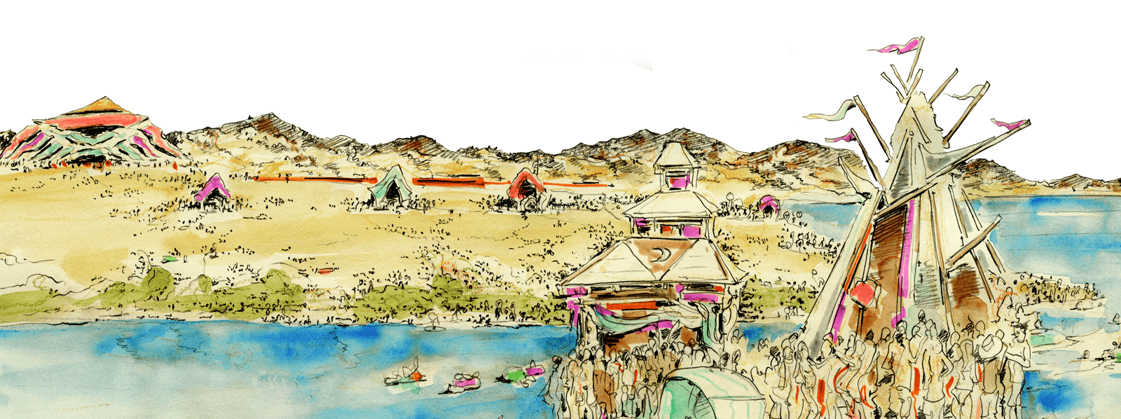 Sketchup drawing village. All things psychedelic studies